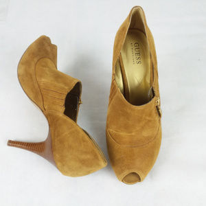 GUESS by Marciano Suede Heels Like New Size 9